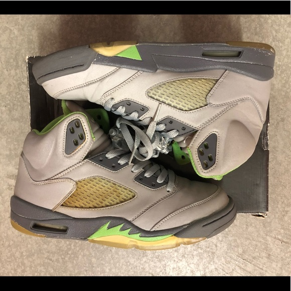 "Jordan Other - 2006 Jordan V ""Green Bean"" sz. 8.5"